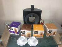 Dolce Gusto Krups + pods + espresso cups