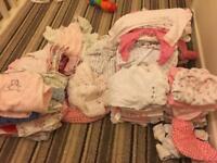 Baby girl clothes tiny baby newborn