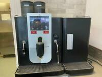 Bean to cup automated coffee machine