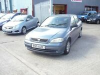 Vauxhall Astra Club 5dr (blue) 1998