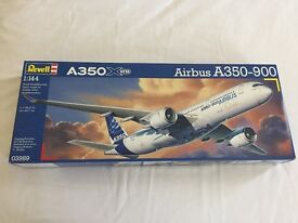 Revell Airbus A350-900 Model Kit - 1/144 scale.