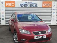 SEAT Leon TDI SE (£0.00 ROAD TAX) FREE MOT'S AS LONG AS YOU OWN THE CAR!!! (red) 2013