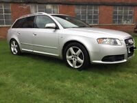AUDI A4 S LINE ESTATE 2.0 TDI BREAKING FOR PARTS