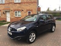 2010 NISSAN QASHQAI 1.5 DIESEL, CRUISE, BLUETOOTH, PARKING SENSORS, FULL HISTORY