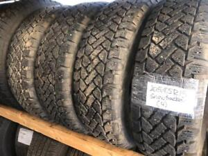 -(4) 205/65R15 SNOWTRACKER WINTER 9/32 TREAD *NEAR NEW*