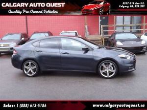 2013 Dodge Dart Limited GT/6-SPEED/NAVI/B.CAM/LEATHER