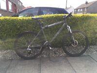 Kona green bike / man size