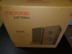 Microlab 8c 2.0 speaker for sale