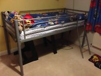Mid sleeper bed & matress
