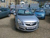 2010 Vauxhall corsa 1.2 petrol 2 owners from new 73.000 miles full MOT full history very tidy car