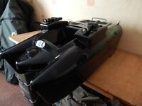 Viper Euro bait boat twin hopper for sale