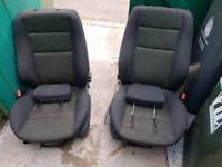 Astra mk 5 front and rear seats