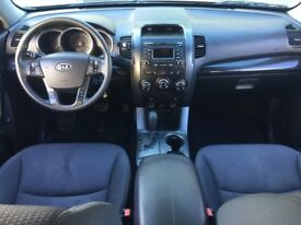 LHD LEFT HAND DRIVE KIA SORENTO 2.4 I PETROL AUTOMATIC 2011 GREY AWD 4X4 WARRANTY PART EXCHANGE WELC