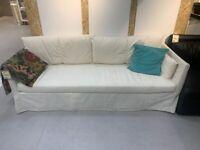 IKEA Southampton, SANDBACKEN, 3-seat sofa, Ransta natural, WAS £260 #CircularHub