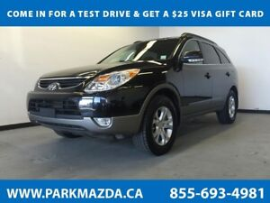 2012 Hyundai Veracruz AWD - Bluetooth, Heated Front Seats, 3rd R