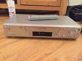 Sony VHS Video player and recorder