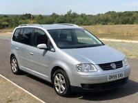 7 Seater VW Touran 2.0 FSI Sport 5dr 3 M Warranty, New Clutch, F S History, Cam changed @ 109K