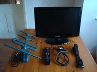 ****TELEVISION - Samsung Black Flatscreen TV 19 Inch Freeview LE19R86BD****