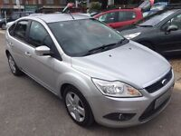 2007/57 FORD FOCUS 1.8 TDCI STYLE 5 DOOR SILVER,SERVICE HISTORY,STUNNING LOOKS AND DRIVES WELL