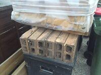 Clay bricks/blocks