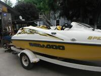 1997 Seadoo Challenger 1800 & 1999 Speedster Boat Parts Only