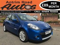 2010 RENAULT CLIO 1.2 DYNAMIQUE TOMTOM ** ONLY 50,000 MILES ** FINANCE AVAILABLE WITH NO DEPOSIT **
