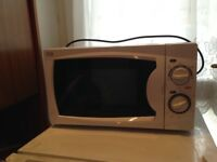 Small microwave oven - (bought from Currys )
