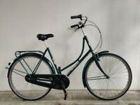 """SERVICED, (4139) 700c 22"""" DRESCO DUTCH STYLE TOWN BIKE COMMUTER CITY BICYCLE Height: 175-190 cm"""