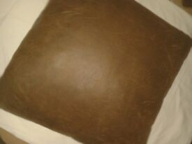 LARGE BROWN 33 INCH FLOOR CUSHION EXCELLENT