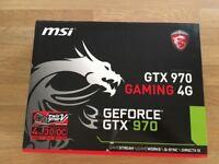 Msi GTX 970 geforce graphics card