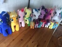 Build a bear and TY My Little Ponies