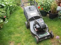 Trojan 18s Petrol Lawn Mower (full working order) Self Propelled