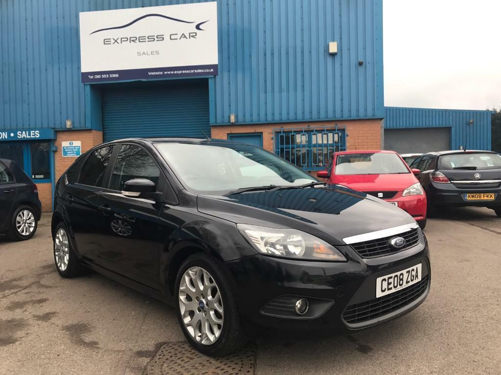 2008 FORD FOCUS 1.6 TDI ZETEC 5dr MANUAL # RECENT NEW TURBO # HPI CLEAR