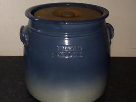 Bread crock -Irish pottery