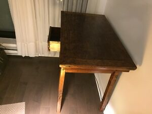 Beautiful teak wood desk or table. Excellent condition