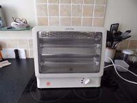 Quartz Twin Bar Heater