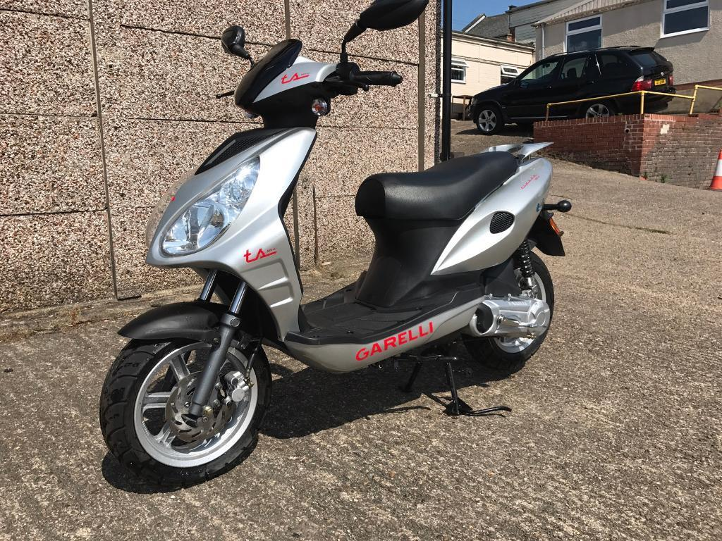 garelli 50cc moped scooter brand new unregistered in