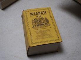 Wisden Cricketers Almanac 1979 hardback with dust cover