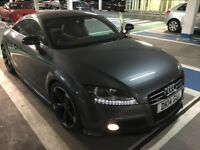 Audi TT Black Edition Amplified