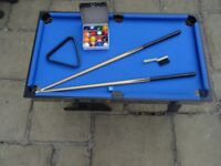 HY-PRO 4 IN 1 MULTI GAME TABLE (POOL/FOOTBALL/TABLE TENNIS & AIR HOCKEY)