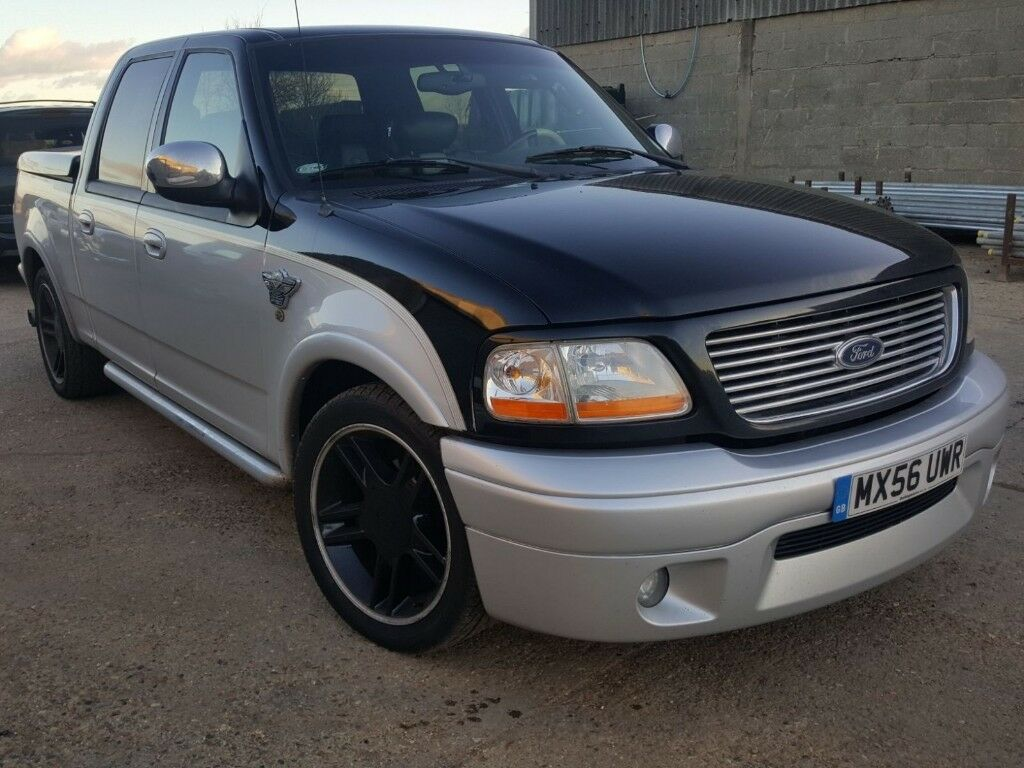 Ford F150 Harley Davidson Anniversary Limited Edition Pick Up Truck Two Tone Black Silver In Great Wakering Essex Gumtree