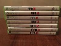 Xbox 360 fifa games (DELUXE EDITION)