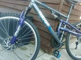"""Apollo Ridge mountain bike, 26"""" wheels"""