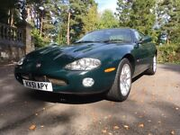 2001 Jaguar XKR 4.0 supercharged auto British racing green cream leather 50k miles FSH MOT 01/17