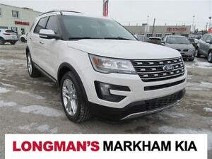 2016 Ford Explorer Limited 4WD Loaded One Owner