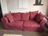 2 double sofas