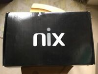 Unused Nix TS08C digital photo frame