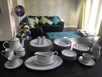 The royal collection Italian 49 piece dinner set