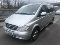 2010 10reg Mercedes Viano 2.2 Cdi Automatic Ambient XLWB 7 Seater