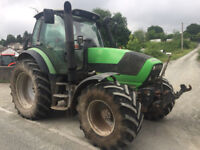 2010 Deutz M600 Tractor! Two Owners From New! 4 Manual Spools